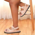 Beige Sporty Sandals