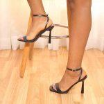 Strappy Skinny Heels
