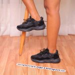 Chunky Up Trainers Black