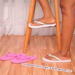 2 Pack White & Pink Flip Flop